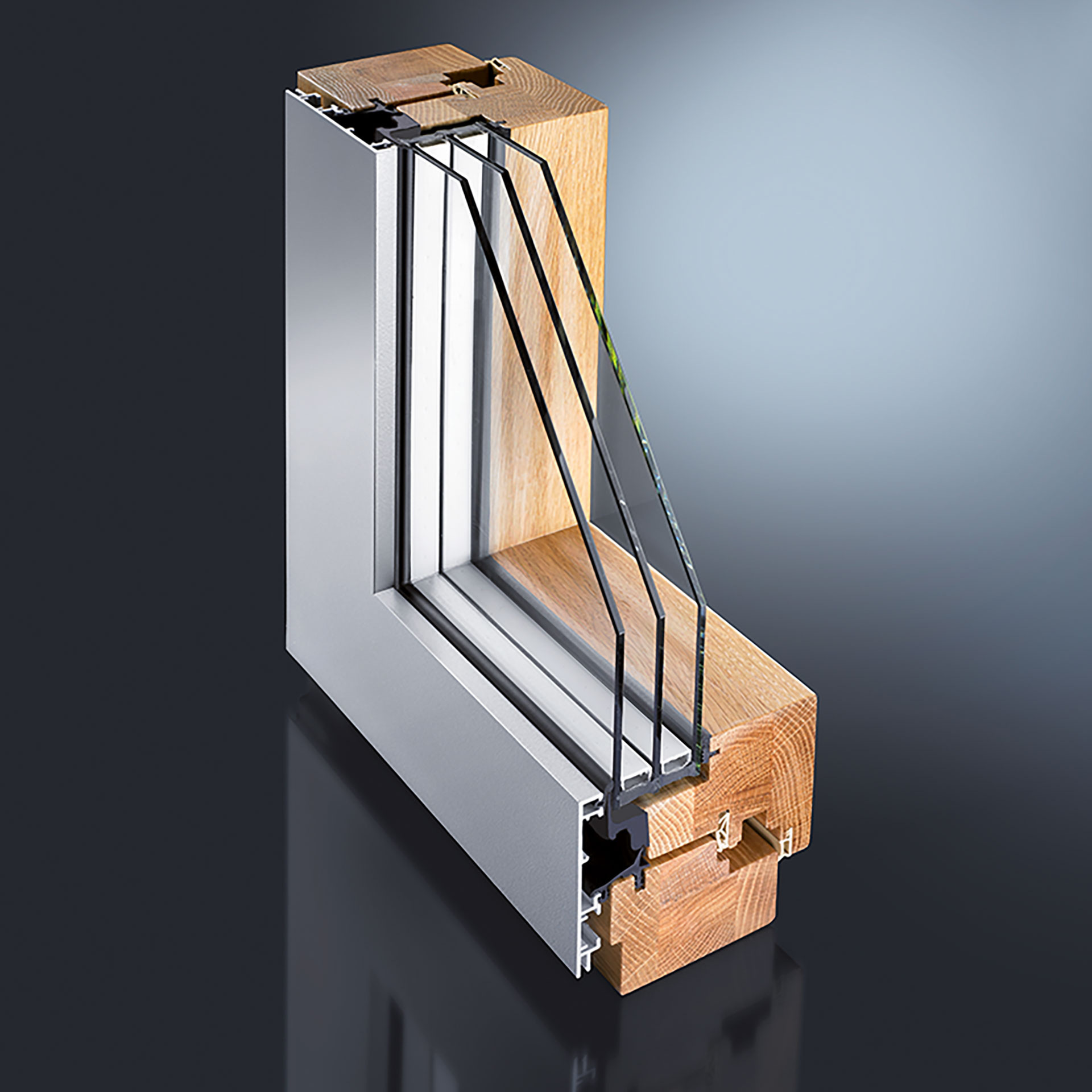 gutmann mira contour integral holz aluminium fenster t r system. Black Bedroom Furniture Sets. Home Design Ideas